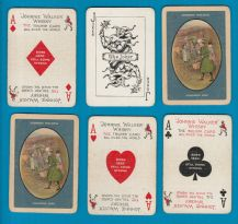 Advertising collectable playing cards Johnnie Walker Whisky